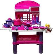 Qariet Alnwader Kitchen set toy large size, On batteries, 61008