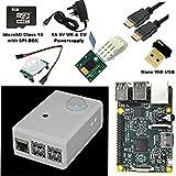 SPI-BOX Raspberry Pi 2 PIR Motion Activated Security Camera starter Kit (Black) with Raspberry Pi2 + Raspberry Pi Camera + HDMI +WIFI Adaptor + 8GB Micro SD Card