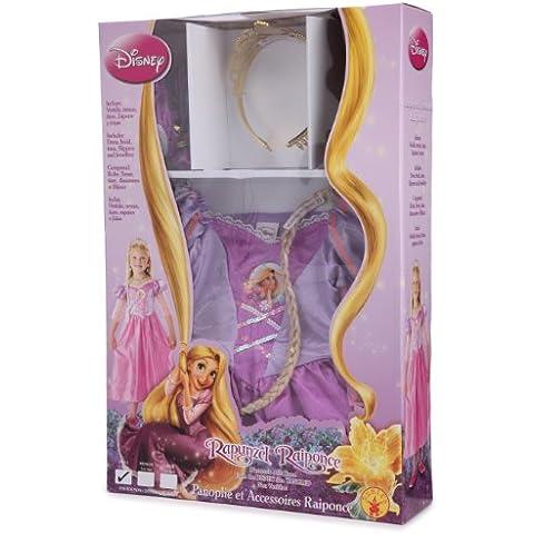 Rubie`s - Disfraz infantil de Rapunzel clásico, con accesorios en caja (884494-S)