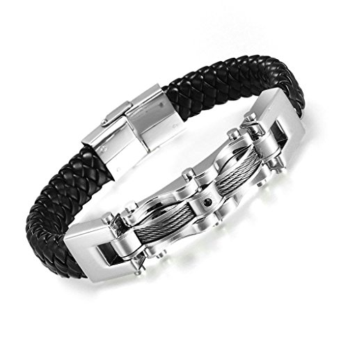 deux-aooaz-acier-inoxydable-hommes-tons-cuir-bracelet-cable-bracelet-noir-cristal-vague-forme
