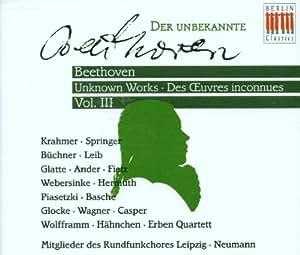 Der unbekannte Beethoven Vol. 3