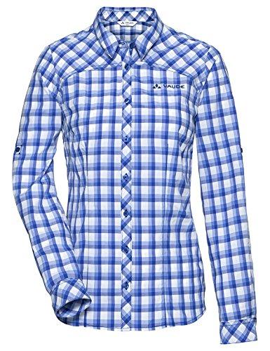 funktionsbluse damen kurzarm Vaude Damen Women's Tacun LS Shirt Bluse, Skyward, 44