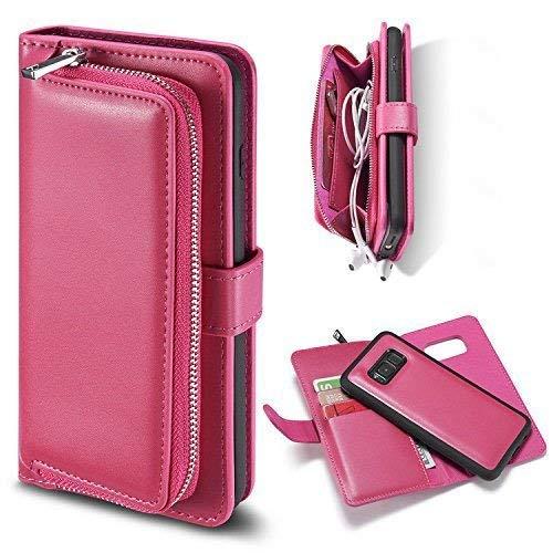 6889f06348 Yousorld Custodia per Samsung Galaxy S7, [Detachable Zipper] 2 in 1 [Grande