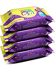 Roo & Boo Paraben Free 99% Water Baby Wet Wipes (30 pcs/pack) (Pack of 4)
