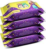 Roo & Boo Baby Wet Wipes - Paraben Free , 99% Water Wipes (30 pcs/pack) (Pack o