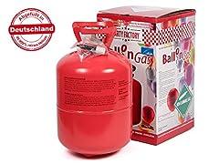 Idea Regalo - Alsino hqp01, Bottiglia elio per fino a 50 palloncini, Rosso