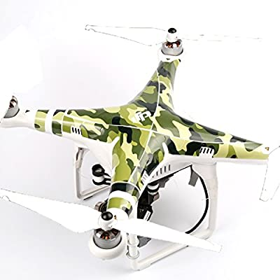 Vinyl Skin Decals Shell Sticker for DJI Phantom 2 Vision Quadcopter Accessory - Fashion Camouflage