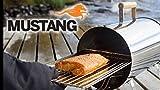 Grillpaul Mustang Räucherofen Tischräucherofen 1100 Watt inkl. Räucherchips Erle u. Abdeckung Finnland