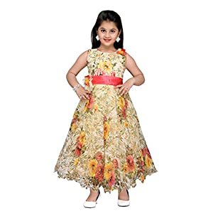 bcc9cf7bf90 ADIVA Girl s Net Party Wear Gown