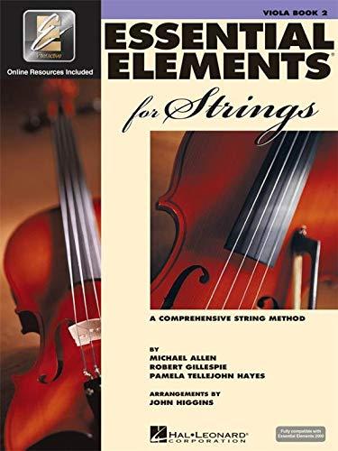 Essential Elements 2000 für zwei - Viola Saiten im Buch. Noten für Violine