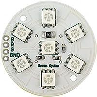 Leggero, con 7 SMD RGB LED da 5 V, da una fonte, i LED sono Painfully Bright. con una corretta caso, una bellissima luce d