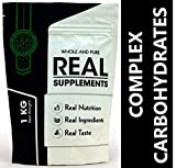 REAL SUPPLEMENTS WHOLE COMPLEX CARBOHYDRATES For Mass & Weight Gain ll 1KG