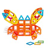 DBPOWER 46/76/96�Piece Magnetic Construction Kits Educational Building Block Set 46 PCS
