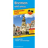 Radwanderkarte Bremen und umzu: 1:100000. Mit Ausflugszielen, Einkehr- & Freizeittipps, reissfest, wetterfest, abwischbar
