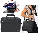 Navitech Sacoche de Transport Noire Compatible avecnovo ThinkPad X1 Carbon / Lenovo Y40 / Lenovo Y50 / Lenovo Flex 14D / Lenovo...