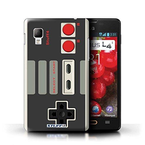Stuff4 Hülle / Case für LG Optimus L4 II/E440 / Klassisches Nintendo Muster / Spielkonsolen Kollektion