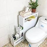 GAOLIGUO GL&G Bad Seite wasserdicht Store Objekte Schränke Boden Schrankküche, Badezimmer Möbel Locker schmalen Schlitz Kabinett,A