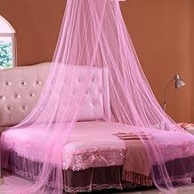 kaifang redondo aro malla de dosel mosquitera para cuna, Twin, tamaño para cama doble