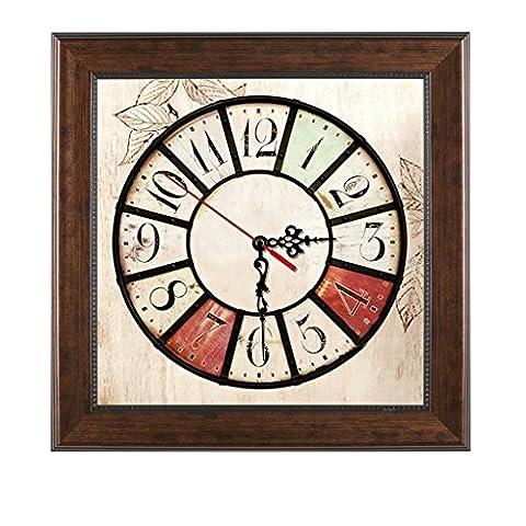 Max Home @ Meter box décorative peinture horloge rétro rétro