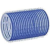 Comair–Bigodini adesivi, 40mm, sacchetto da 12pezzi, colore: blu