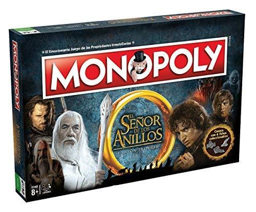 El Señor Anillos-El Monopoly Edición Trilogía