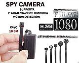 Abhörgerät Spy Camera Spionage Full HD + Micro SD 16GB Motion Detection Kamera Micro versteckte Kamera CW145kaufen Web