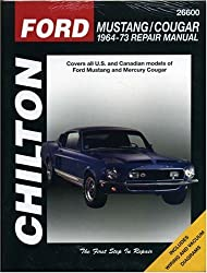 Ford Mustang, Cougar (1964-73) (Chilton Total Car Care)