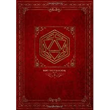 RPG Notebook: Lined and grid pages for Role Playing Games | RED COVER | Notes, tracking, mapping, terrain plans for DM Dungeon Master or a GM Game Master