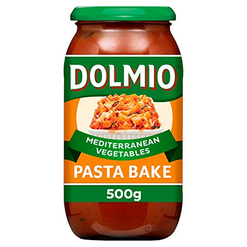 Dolmio Sauce for Pasta Bake Mediterranean Vegetables, 500g