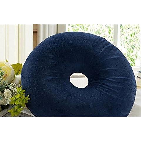 JY$ZB Bello fondo tampone lento terapia magnetica salute rimbalzo cuscino emorroidi Cuscino Cuscino rotondo , blue