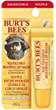 Burt's Bees 100% Natural Lip Balm, Beeswax, Squeezable, 9.2g