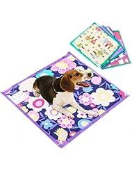 mascotas perros accesorios deportiva perros cama de perrito almohadilla caliente Sannysis Almohadillas térmicas eléctricas Manta Mat Cama para perro, 40cmx40cm, color aleatorio