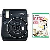 Instax Mini 70 Camera with 10 Shots - Black