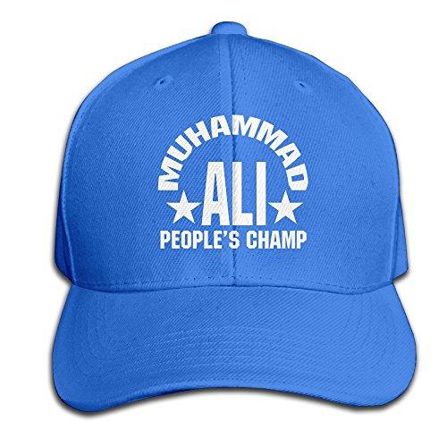 Maneg Muhammad Ali verstellbar Jagd Reach a climax Hat & Cap, unisex, Königsblau