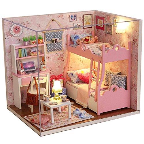 Saffire Wooden Led Light Blossom Miniature Dollhouse Kit