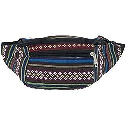 Riñonera, bolsa de cadera 3 bolsillos (Color 4)