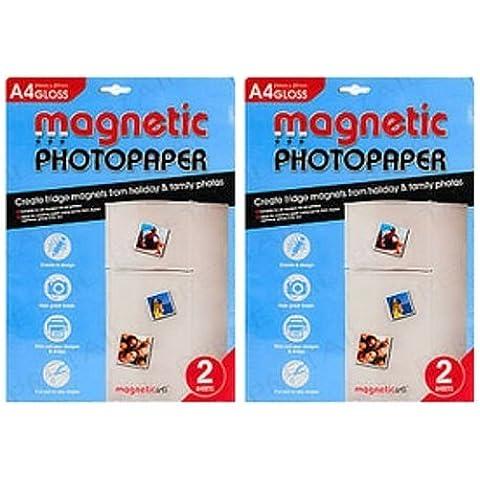 Stampabili magnetica, effetto lucido, per creare immagini, Holiday Cards-Calamite per frigorifero
