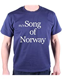 Song Of Norway T Shirt by Old Skool Hooligans - As Worn By Bowie