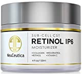 NeuCeutica Retinol Moisturizer Cream Anti Wrinkle for Neck, Face: With Collagen, Vitamin C, Resveratrol - 2 Ounce by NeuCeutica