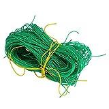 Zerodis Kletterpflanzen Netz Pflanzennetz Pflanzenstütze Zuchtnetz Rankhilfe für Pflanzen Gemüse Schutz (70.87