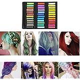 MCTECH pelo Temporal del Pelo Tiza 36 Colores Pastel pelo precortadas Colores Hair chalks