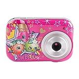 Fotocamera digitale compatta per i bambini le ragazze / bambini Shopkins (fotocamera da 5 megapixel)