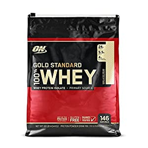 Optimum Nutrition Whey Gold Standard Protein, Vanilla Ice Cream, 4,5 kg