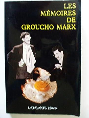 Marx Groucho - MEMOIRES DE GROUCHO