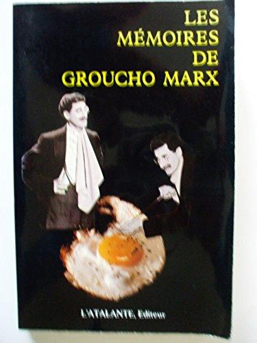 MEMOIRES DE GROUCHO MARX