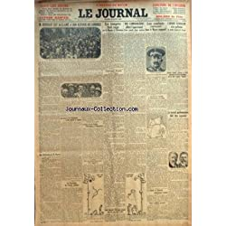 JOURNAL (LE) [No 11629] du 19/08/1924 - M. HERRIOT EST ACCLAME A SON RETOUR DE LONDRES - DES CAMBRIOLEURS PILLENT L'APPARTEMENT D'UNE GRANDE DAME ANGLAISE - LES COMBATS CONTINUENT DANS LE MAROC ESPAGNOL - L'ARABE EGORGEUR SERA GUILLOTINE BOULEVARD ARAGO - CHARLIE CHAPLIN - LE PROJET DE LOUIS MARIN - LETTRE DE MACDONALD A MM. HERRIOT ET THEUNIS