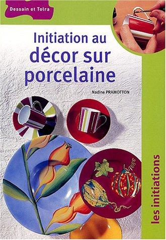 Initiation au décor sur porcelaine par Nadine Pramotton