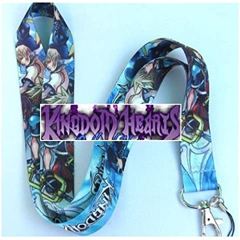 Kingdom Hearts Cell Phone Lanyard, ID Badge Holder, Key Chain Strap by Kingdom Hearts