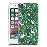 Head Case Designs Offizielle Charlotte Winter Monstera Tropische Muster Soft Gel Hülle für Apple iPhone 6/6s