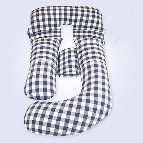 SPQRSXC Oreillers pour femmes enceintes et femmes enceintes, femmes enceintes, oreillers d'allaitement et oreillers d'allaitement, coussin de soutien côté féminin endormi, lavable, (170 * 70 * 20cm)